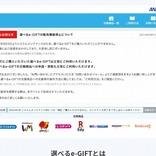 全日空商事、個人向けデジタルギフト販売再開 ANAマイルの間接購入は不可に