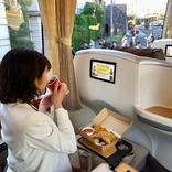 """豪華なバスで、世界の朝食とネスカフェエクセラを楽しむ!「YuGa×ネスカフェ""""優雅な通勤バスで朝食を""""」の申込受付がスタート"""
