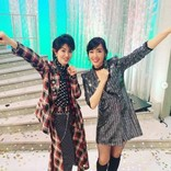 """早見優 「相変わらずダンスはキレキレ」な荻野目洋子と""""ダンシング・ヒーロー""""ポーズで2ショット"""