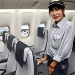 世界レベルの清潔性の裏に「人の力」 ANA、機内清掃コンテスト初開催