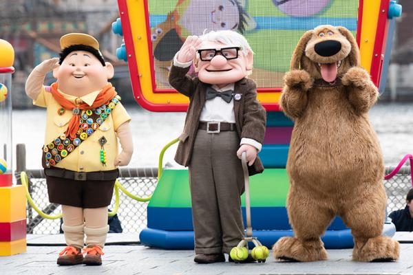 ピクサー映画の世界「ピクサー・プレイタイム」開催
