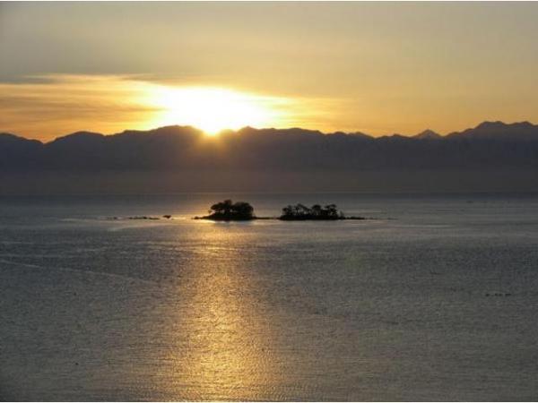 氷見海岸 初日の出