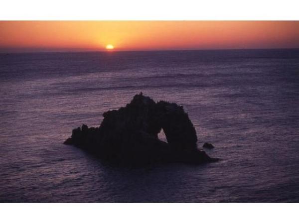 日出の石門 初日の出