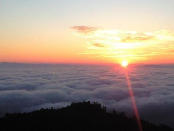 比叡山 初日の出