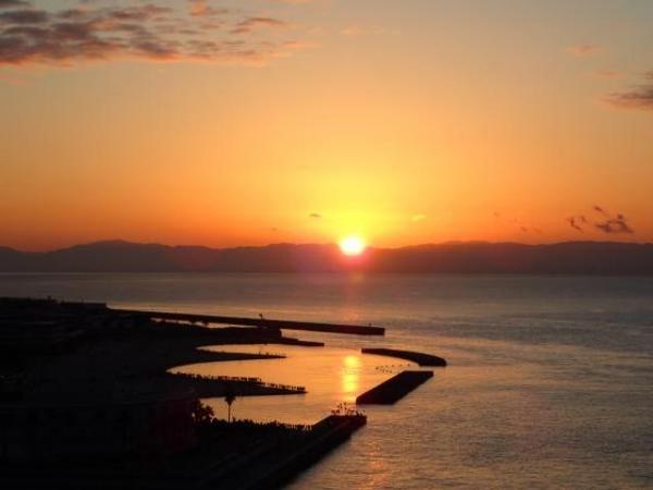 明石海峡大橋から初日の出を見よう