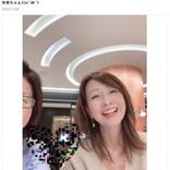 『わらべ』倉沢淳美がドバイから帰国中、松居直美と再会「全然昔と変わらないですね!」の声