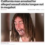 高齢者に暴行の男、反省ゼロの呆れた逮捕写真が物議を醸す(米)