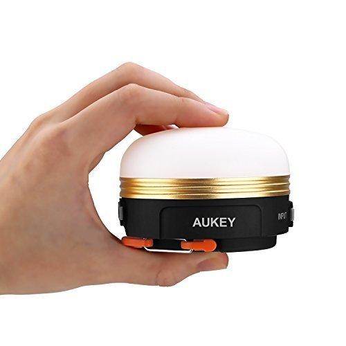 ランタン LEDランタン アウトドア用品 AUKEY ナイトライト ベッドサイドランプ ランプ 懐中電灯 USB充電式 マグネット 防災/キャンプ用品 3つ調光モード LT-SCL01