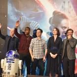 『スター・ウォーズ』全作出演のC-3PO役俳優を来日会見で監督絶賛 日本の影響も明かす