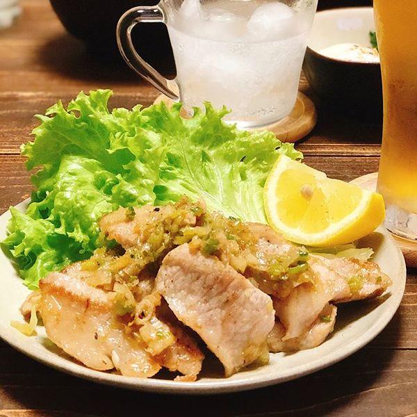 付け合わせレシピに!親子丼とポークソテー