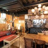 昔ながらの商店街にある、アンティークなインテリアを楽しめるカフェ