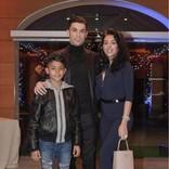 クリスティアーノ・ロナウド、長男&恋人との3ショット公開 9歳息子がますますイケメンに