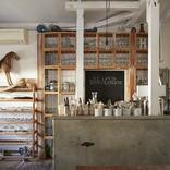 インテリアに浸るカフェ。イタリアの田舎暮らしがお手本に