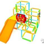 『アンパンマン うちの子天才 手遊びいっぱいよくばりパーク』は自宅で楽しく遊べて、体も脳も鍛える大型遊具!