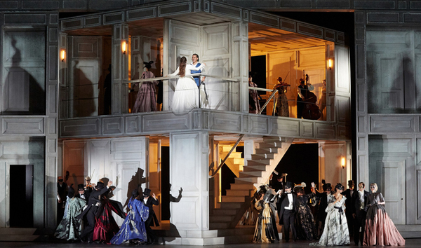 Production Image of Don Giovanni at the Royal Opera House  (C) ROH 2019 Photographed by Mark Douet