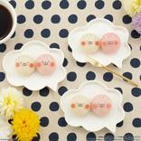 LINEスタンプで大人気〈うさまる〉と〈うさこ〉がモッチモチの和菓子に!