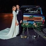 ヒラリー・ダフがウェディングドレス姿を披露 プロポーズ秘話も