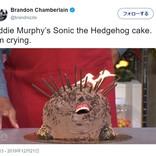 エディ・マーフィーのソニックケーキが大ウケ 「バイオハザードのラスボスかよ」