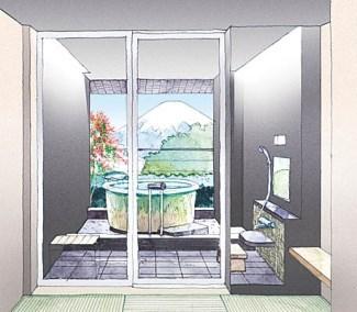 日帰り温泉施設「木の花の湯」