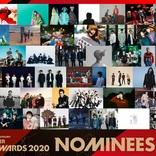 バンプ、ワンオク、椎名林檎らがノミネート 『SPACE SHOWER MUSIC AWARDS 2020』の顔ぶれが明らかに