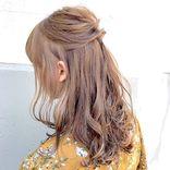 卒園式はハーフアップの髪型がおすすめ♡不器用なママでもできる簡単アレンジ集