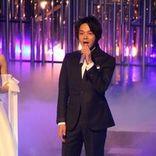 中村倫也 NHKホールに美声響かせる、紅白本番直前リハーサルに登場