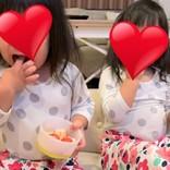 ノンスタ石田、双子が手足口病に 「病気にかかるのも一緒なんやね」