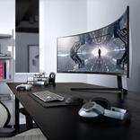 まるでシミュレーター。Samsungの49インチ「Odyssey G9」湾曲ゲーム用ディスプレイ #CES2020