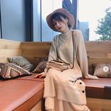 「全てが可愛い」後藤真希、あったかニットワンピコーデ写真公開に反響「女神です」