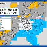 センター試験初日 関東甲信で雪 交通機関の乱れ注意
