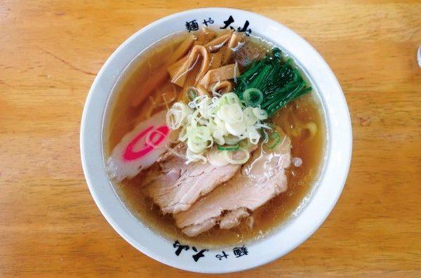 青竹手打ちラーメン 麺や大山