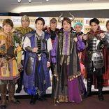 劇団EXILE、9人全員で初舞台 青柳翔はタンクトップ&短パン姿で熱唱