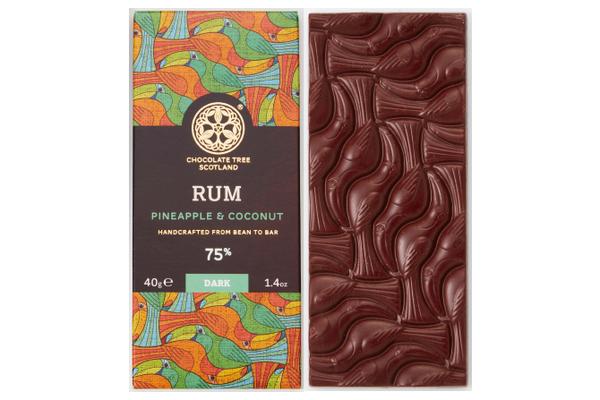 チョコレートツリー「ラムパイナップル&ココナッツ」