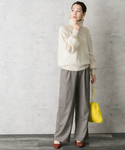 [URBAN RESEARCH ROSSO WOMEN] ラビットファーミニ巾着