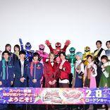 伊藤あさひ、濱正悟ら『ルパパト』再集結、一ノ瀬颯ら4戦隊集結にファン熱狂