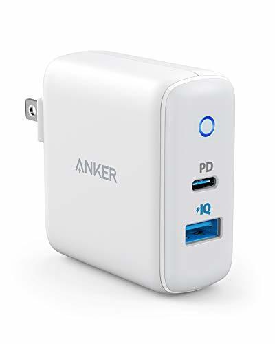 Anker PowerPort PD 2(PD対応 30W 2ポート USB-A & USB-C 急速充電器)【PSE認証済 / Power Delivery対応 / PowerIQ搭載 / コンパクトサイズ】iPhone 11 / 11 Pro / 11 Pro Max / XR / 8、S10 / S10+、その他対応