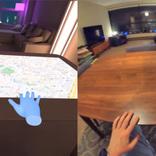自宅がSFなVR空間に! 机も壁も平面を巨大タッチスクリーンに変えたプログラマー