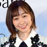 """須田亜香里、セクシーな""""キャバ嬢""""姿で美脚&胸元あらわ ファンから「指名します」の声"""