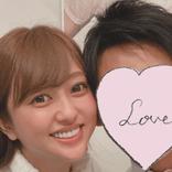 菊地亜美、結婚記念日に夫への愛が爆発 「一番のレストランにご招待」