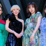 中谷美紀、池田エライザらゴージャスドレスで集結「FOLLOWERSのフォロワーになって」