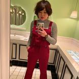 ブルゾンちえみ、可愛いトイレでの自撮り写真が話題に!
