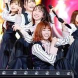 日向坂46、ファッションショー&ライブで2万5000人熱狂 濱岸ひよりが本格復帰