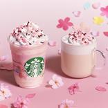 スタバから日本限定「さくら ミルクプリン フラペチーノ」新登場 桜の葉風味のなめらかもっちりプリンのビバレッジ