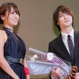 横浜流星、深田恭子と再会で熱い抱擁「久しぶりの再会でうれしくて」