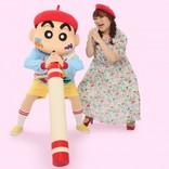 りんごちゃん、『映画クレヨンしんちゃん』で声優デビュー 豹変芸生かし1人3役に挑戦