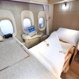 エミレーツ航空の完全個室型ファーストクラス、地上で体験してみた