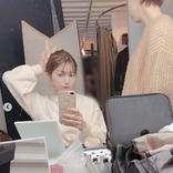 後藤真希、白ニット×ゆる前髪のメイク中オフSHOT公開に反響「変わらずキレイ」「女神」