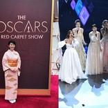 松たか子、着物&ドレスで魅了! アカデミー賞で日本人初歌唱の快挙
