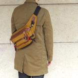 安心の日本製クオリティ。マスターピースのウエストバッグは丈夫でハイスペックなんだ マイ定番スタイル