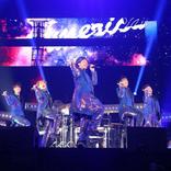 DA PUMP 全国ツアー初日でつり革ダンス披露!YORI復活、7人で17曲熱演
